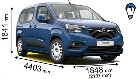 Opel COMBO LIFE - 2018