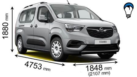 Opel COMBO LIFE L2 - 2018