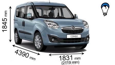 Opel COMBO TOUR - 2012