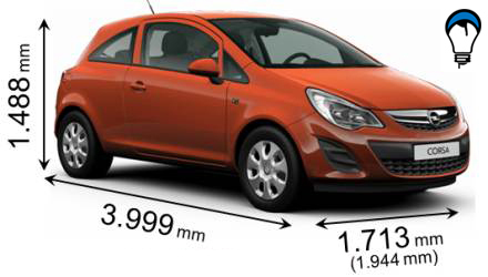 Opel CORSA 3P - 2012