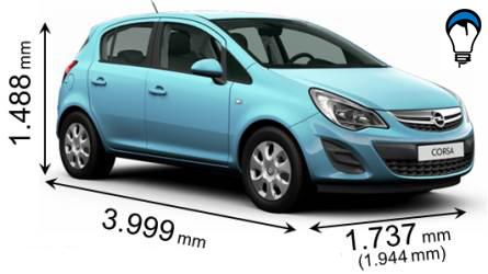Opel CORSA 5P - 2012