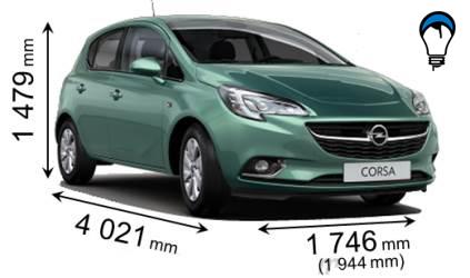 Opel CORSA 5P - 2015