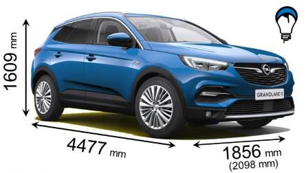 Opel GRANDLAND X - 2018