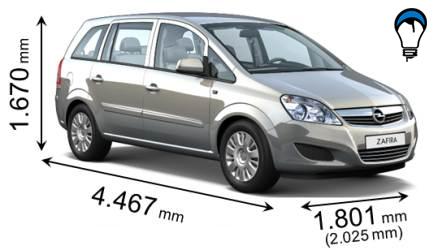 Opel ZAFIRA - 2008
