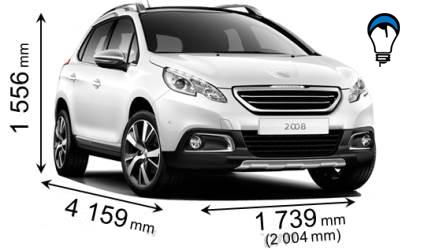 Peugeot 2008 - 2013