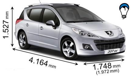 Peugeot 207 SW - 2009