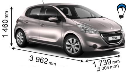Peugeot 208 - 2012