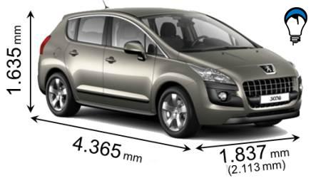 Peugeot 3008 - 2009