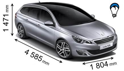 Peugeot 308 SW - 2014