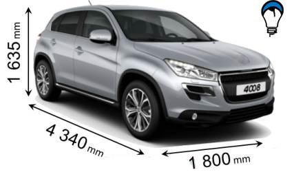 Peugeot 4008 - 2012