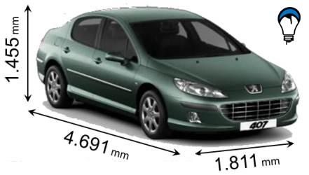 Peugeot 407 - 2009