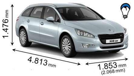 Peugeot 508 SW - 2011