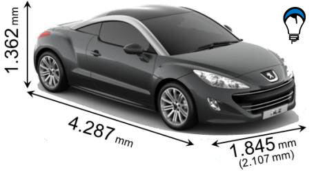 Peugeot RCZ - 2011
