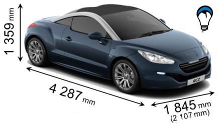 Peugeot RCZ - 2013