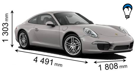 Porsche 911 CARRERA - 2012
