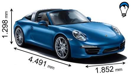 Porsche 911 TARGA 4 - 2013