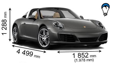 Porsche 911 TARGA 4 - 2016