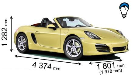 Porsche BOXSTER - 2012