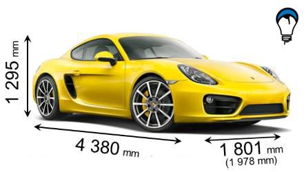 Porsche CAYMAN - 2013