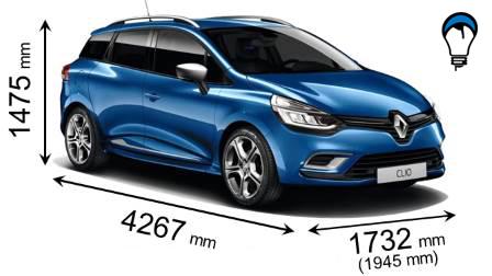 Renault CLIO SPORT TOURER - 2016