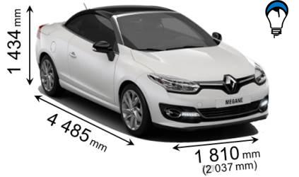 Renault MEGANE COUPE CABRIO - 2014