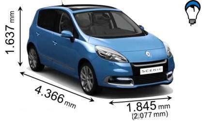 Renault SCENIC - 2012