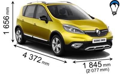 Renault SCENIC XMOD - 2013