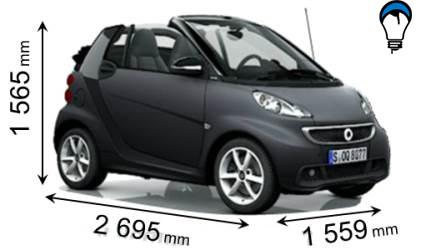 Smart FORTWO CABRIO - 2012