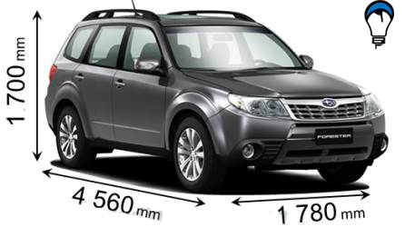 Subaru FORESTER - 2011