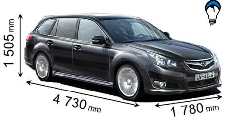 Subaru LEGACY - 2010