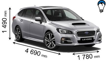 Subaru LEVORG - 2016