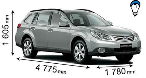 Subaru OUTBACK - 2010
