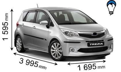 Subaru TREZIA - 2011