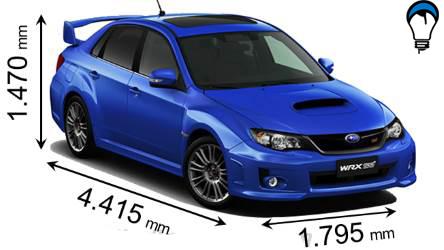 Subaru WRX STI - 2008