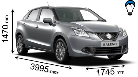 Suzuki BALENO - 2016