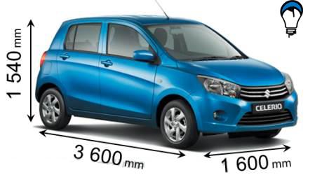 Suzuki CELERIO - 2015