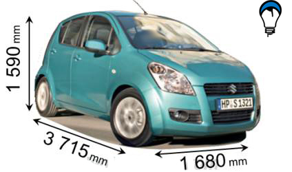 Suzuki SPLASH - 2008