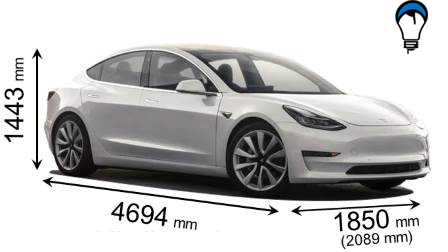 Tesla MODEL 3 - 2018