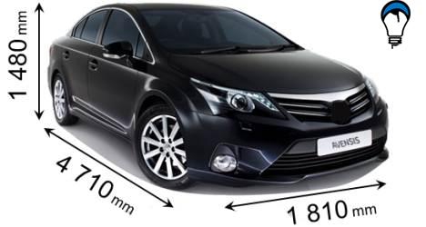 Toyota AVENSIS - 2012