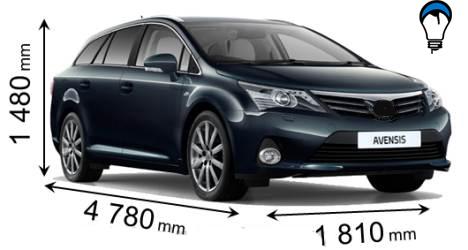 Toyota AVENSIS CROSS SPORT - 2012