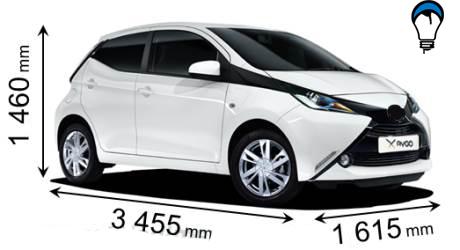 Toyota AYGO - 2015