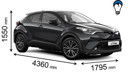 Toyota C HR - 2017