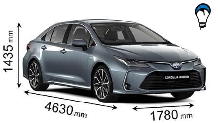 Toyota COROLLA SEDAN - 2019