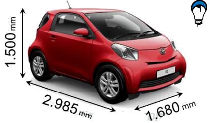 Toyota IQ - 2009