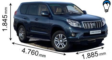 Toyota LAND CRUISER - 2010