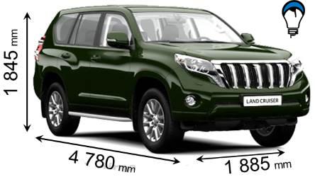 Toyota LAND CRUISER 5P - 2013