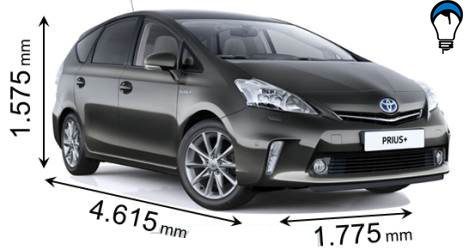 Toyota PRIUS PLUS - 2012
