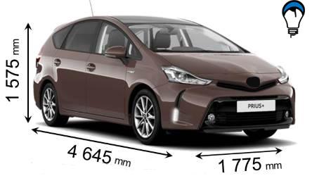 Toyota PRIUS PLUS - 2015