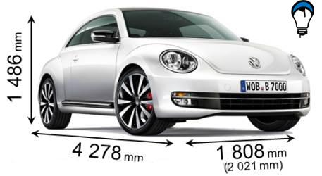 Volkswagen BEETLE - 2012