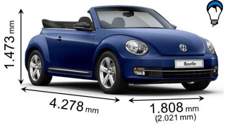 Volkswagen BEETLE CABRIO - 2013